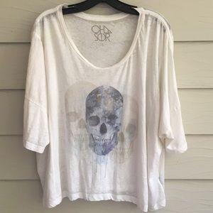 Chaser Skull graphic tunic